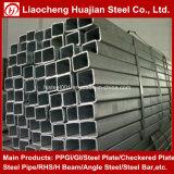 Talla rectangular 200X50X8m m del tubo de acero para la aplicación de la industria de la máquina