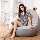 Muebles de Salón interior flocado de aire inflables de PVC perezoso sofá