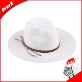 Бумажный шлем Brim Sun Панамы сторновки Fedora шлема сторновки широкий