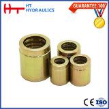 Embout hydraulique convenable galvanisé blanc de boyau de l'acier du carbone R1 R2