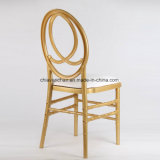 Resina de policarbonato dourado Phoenix Infinite Chiavari Chairs