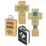 Flash Drive USB de madera dura