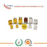 Conector de termopar amarelo amarelo de tipo mancha (tipo K)