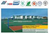 Het openlucht Hoge Elastische Hof van Sporten Spu voor Basketbal/Tennis/Vollyball/Badminton