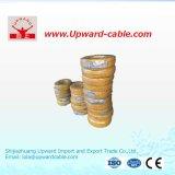 PVC de cuivre/en aluminium de conducteur isolé et engainé renfermant le fil