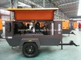 Hg400m-13中国の送風穴鉱山のための掘削装置が付いている携帯用ディーゼル空気ねじ圧縮機