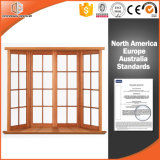 Le bois massif de haute qualité de la baie fenêtre Bow en Chine