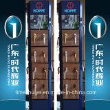Алюминиевая Bi-Складывая дверь с хорошим качеством и проверкой TUV приобъектной