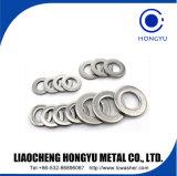 De Vlakke Wasmachine van de Pakking van het Metaal van de Wasmachine van het Slot van het roestvrij staal DIN9250