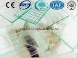 세륨 ISO (3 에 8mm)를 가진 명확한 Pyramid Patterned Glass