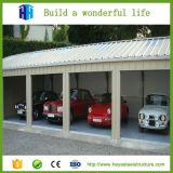 옥외 저장 헛간 금속 건축 Prefabricated 강철 구조상 간이 차고 계획