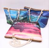 Single-Sided印刷の小型女の子袋(棒キャンバスの背部)