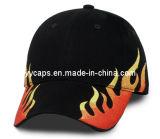솔질된 면 자수 야구 모자 (YYCM-120376-1)