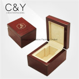Caixa de presente de madeira da jóia da laca elevada do lustro