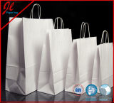 Все типы хозяйственные сумки бумаги Kraft цен бумажных мешков Kraft белые