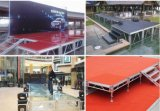 Draagbare Stadium van het Stadium van de Verlichting van de Partij van het Huwelijk van het aluminium het Regelbare