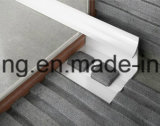 profil décoratif de tuile de bord blanc de couleur de 10mm