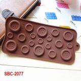 19 Hole--Button Silicone Cake Mold Handmade Matrijs Chocolade ijsblokjesvorm Handmade gereedschap voor het bakken van zeep