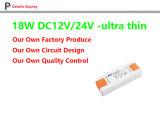 12W de constante LEIDENE van het Voltage 12V 24V Levering van de Macht, 12V Adapter, 24V Transformator, 12W Uiterst dunne van HOOFD DC12V DC24V Bestuurder