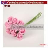 クリスマスの装飾の新型の切りたての花のローズの花(W2037)