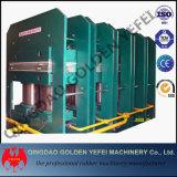 Máquina de goma de vulcanización lateral del vulcanizador de la prensa de la losa de China