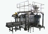 Verpakkingsmachine met geweven zakken