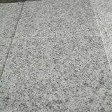 中国は安く舗装のための白い花こう岩G603を炎にあてた