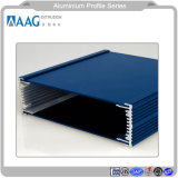 La ventilazione di alluminio cuoce il profilo alla griglia di alluminio di alluminio dello scarico dell'aria di ventilazione dell'aria di profilo del Governo per il sistema del portello e della finestra
