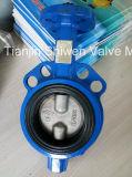 Blank Stamm-Oblate-Drosselventil