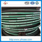 Mangueira de borracha hidráulica de alta pressão flexível de En856 4sh