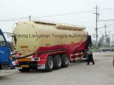 Tank van het Cement van de Fabriek van China de Bulk met Twee Comparments