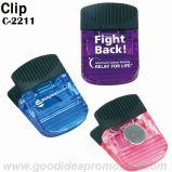 Imán clip de plástico / papel imán Clip / Clip magnético