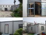 Het goedkoopste Prefab Modulaire Huis van de Container van het Pak van het Comité van de Sandwich van het Polyurethaan Vlakke