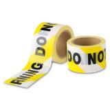 注意の犯罪現場は、黄色いバリケードの警察をパーティを楽しむために録音する入らない