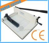 Manual de servicio pesado guillotina escritorio pila de papel máquina del cortador (YG-858A4)