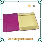 Caja de papel plegado plano/Caja paquete/Dos Pantone Clolor Imprimir