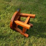 固体木の子供の腰掛け(M-X2123)