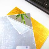 De zilveren Plastic Spiegel van de Decoratie/de Zilveren Gouden AcrylComités Bladen/PMMA van de Spiegel van de Kleur Acryl