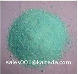 Solfato ferroso della polvere blu-verde