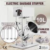 générateur électrique vertical de viande de Stuffer de remplissage de saucisse de 10L 25lbs