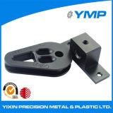 OEM personalizado de metal piezas de mecanizado con negro Anodize