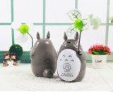 Usb-Ventilator Totoro Form mit LED, USB-Ventilator-Tisch-Lampen-Funktion