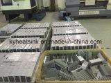 La formación de la plaza de aluminio Tubo cuadrado de aluminio de tuberías