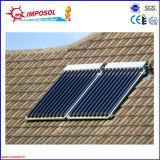 Sistema a energia solare spaccato del collettore del riscaldatore di acqua di alta qualità