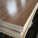 18mm Woodgain melamina brillante de mayor uso de muebles de madera contrachapada