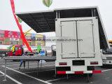 30 mètres carrés de camion de exécution d'étape mobile avec l'écran de DEL