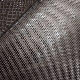衣服のための簡単な浮彫りにされた総合的なPUの革