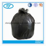 بلاستيكيّة مستهلكة قوّيّة أسود نفاية حقيبة