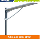 luz de calle solar integrada del sensor del alto brillo de 10W LED para el jardín