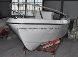 Liya 5.1m barco de fibra de vidrio para la pesca de motor fueraborda Dinghy